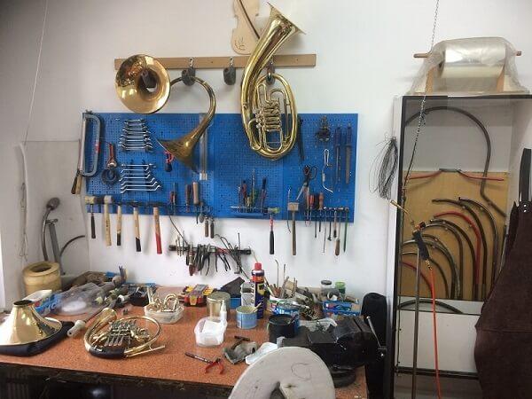 Serwis instrumentów dętych